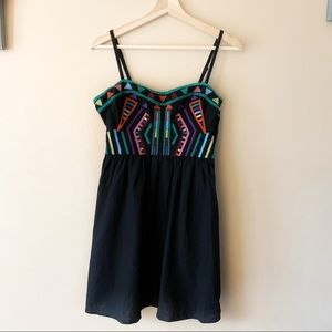 Staring at Stars embroidered Aztec dress size 6